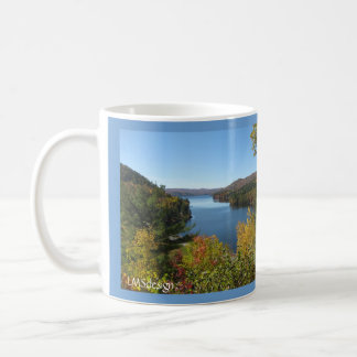 Overlook in Autumn Basic White Mug