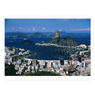 Overlooking Rio Postcard