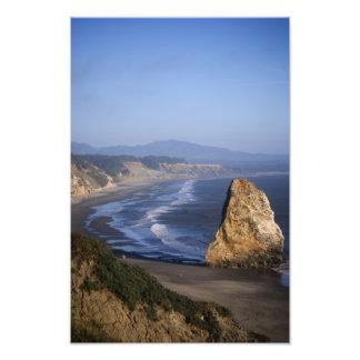 Overlooking the Beach Photo Print