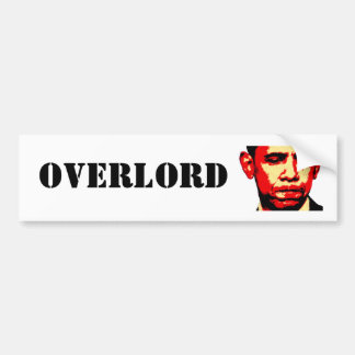 OVERLORD bumper sticker