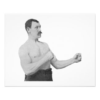 Overly Manly Man Meme 11.5 Cm X 14 Cm Flyer