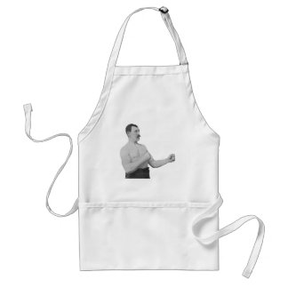 Overly Manly Man Meme Standard Apron