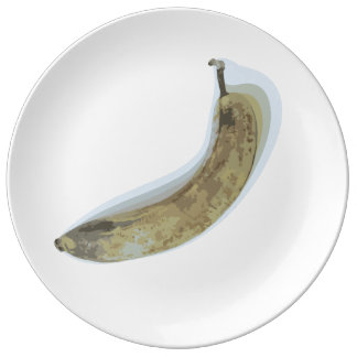 Overripe Banana Plate