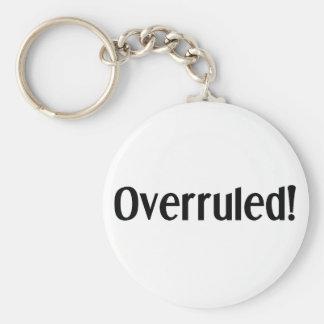 Overruled Key Ring