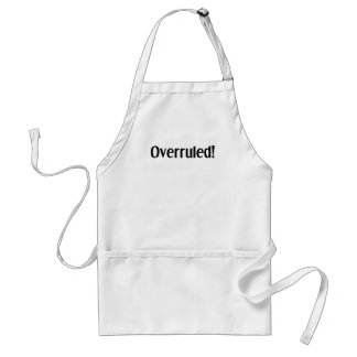 Overruled Standard Apron