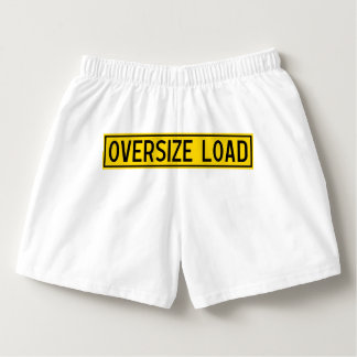 oversize load boxers