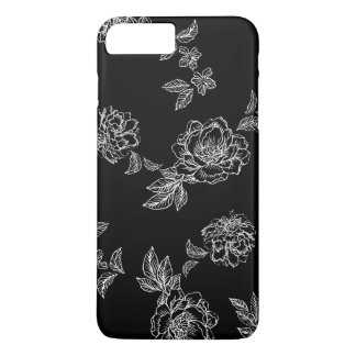 Oversize Peonies Flowers iPhone 8 Plus/7 Plus Case