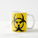 Oversized Biohazard design Basic White Mug