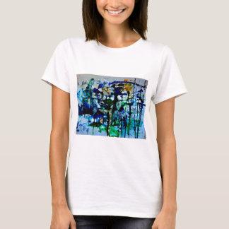 OvertheMoon Art t-shirt, Blue Beautiful Earth T-Shirt