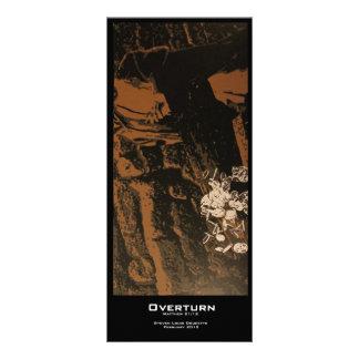 """""""Overturn"""" Value Bookmarks Rack Card"""