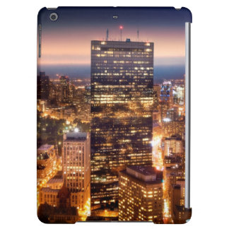 Overview of Boston at night Cover For iPad Air