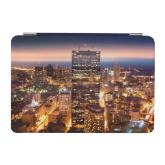 Overview of Boston at night iPad Mini Cover