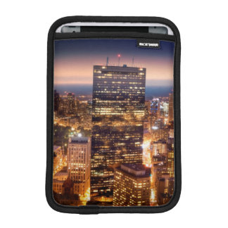 Overview of Boston at night iPad Mini Sleeve