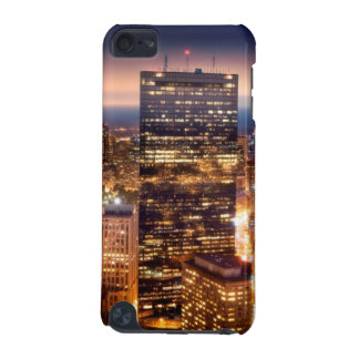 Overview of Boston at night iPod Touch 5G Covers