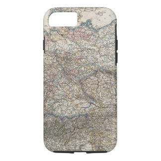 Overview of German Empire iPhone 7 Case