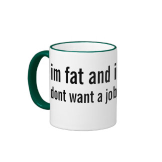 overweight and underemployed ringer mug