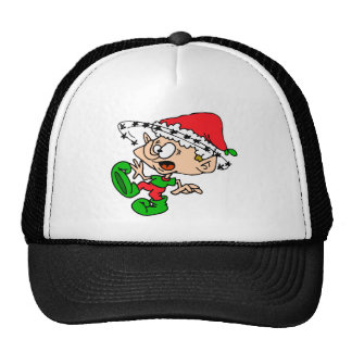 Overwhelmed Elf Cap