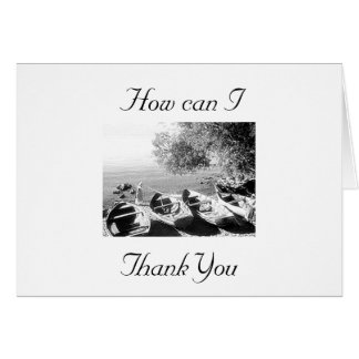 """""""OVERWHELMED WITH GRATITUDE"""" GREETING CARD"""