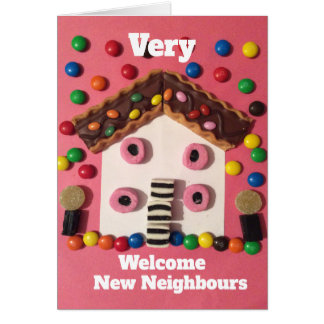 Overy welcome new neighbours card