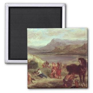 Ovid among the Scythians, 1859 Magnet