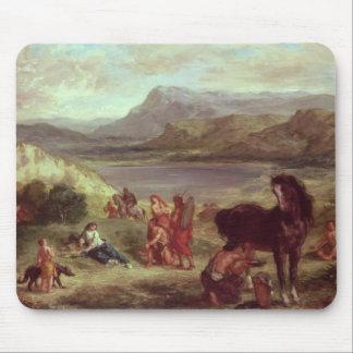 Ovid among the Scythians, 1859 Mouse Mat