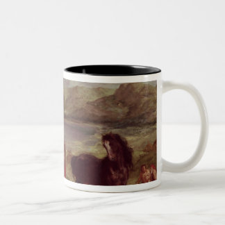 Ovid among the Scythians, 1859 Two-Tone Coffee Mug