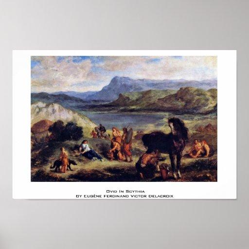 Ovid In Scythia Poster