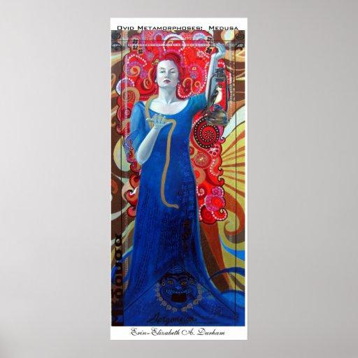 Ovid Metamorphoses: Medusa Poster