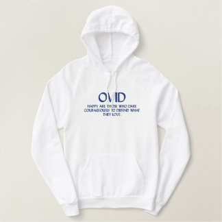 OVID Quote - Hooded Sweatshirt
