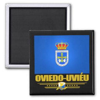 Oviedo-Uvieu Square Magnet