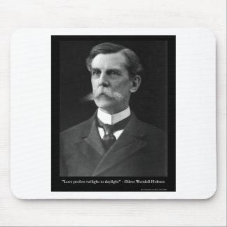OW Holmes LOVE Twighlight Quote Gifts Tees Etc Mouse Pad