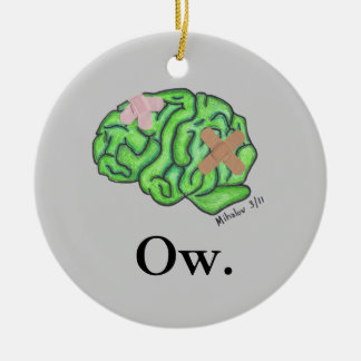 """Ow"" ornament"