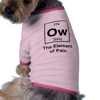 Ow, The Element of Pain Dog Clothing