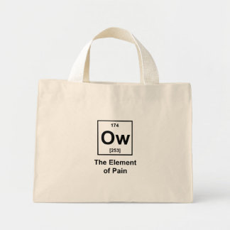 Ow The Element of Pain Tote Bags