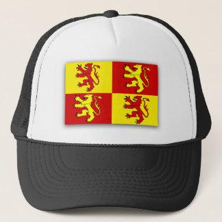 Owain Glyndwr, United Kingdom flag Trucker Hat
