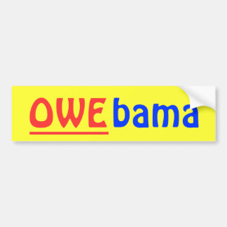 OWE-bama Bumper Sticker Car Bumper Sticker