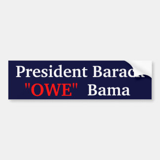 OWE BUMPER STICKER
