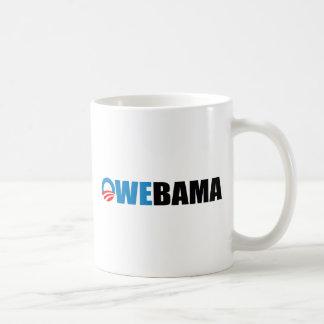 OWEBAMA BASIC WHITE MUG