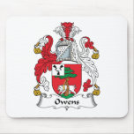 Owens Family Crest Mouse Pad