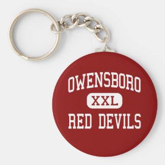 Owensboro - Red Devils - High - Owensboro Kentucky Key Ring