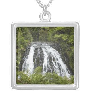 Owharoa Falls, Karangahake Gorge, near Paeroa, Silver Plated Necklace