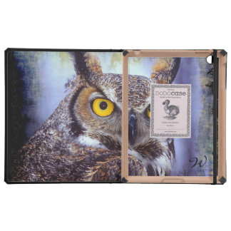 Owl 1 DODO iPad Folio Cases Cases For iPad