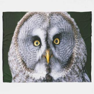 Owl 2 fleece blanket