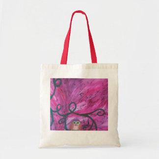 Owl Alone Budget Tote Bag