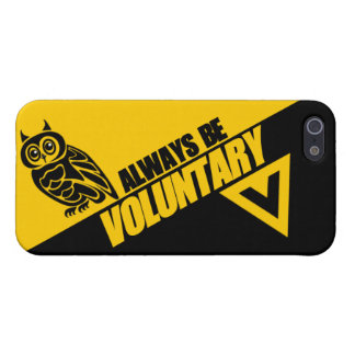Owl Always Be Voluntary iPhone 5/5S Covers