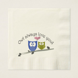 Owl Always Love You, Paper Napkin