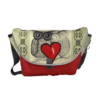 Owl Always Love You - Rickshaw Messenger Bag