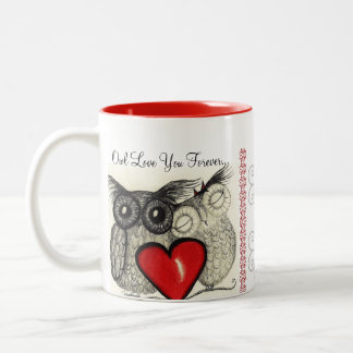 Owl Always Love You Two-Tone Coffee Mug