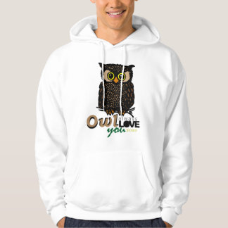 OWL always LOVE you XOXO Hoodie