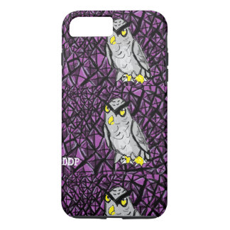 Owl and Amethyst iPhone 7 Plus Case